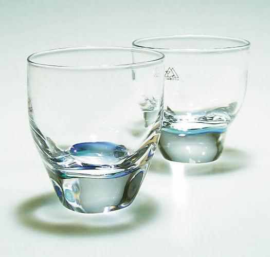 あづみ野ガラス工房 名水グラス